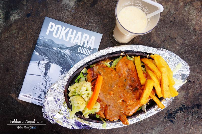 2014 Nepal Pokhara Lunch