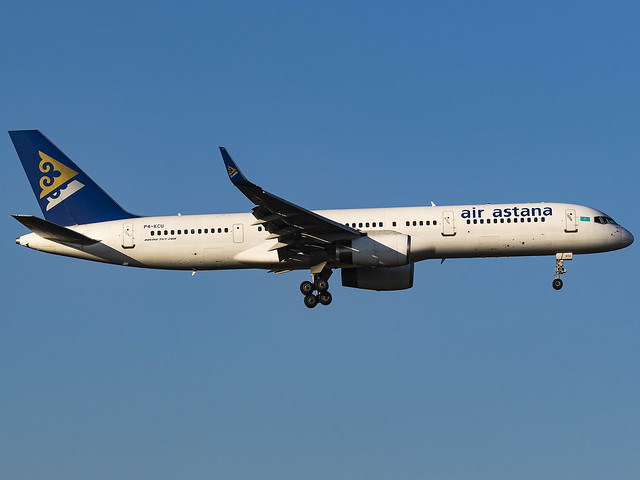 Air Astana | Boeing 757-23N(WL) | P4-KCU