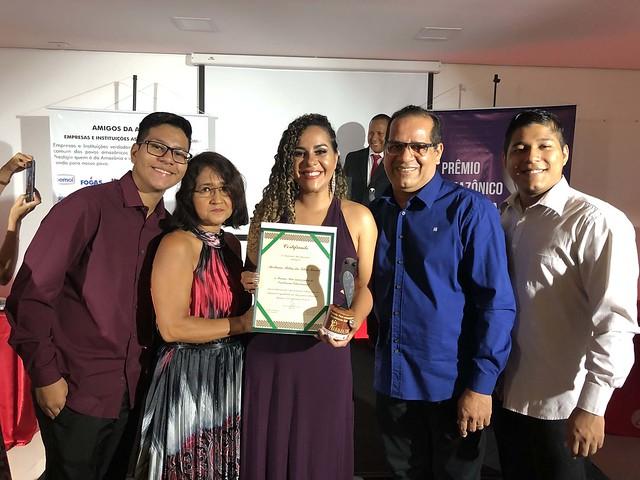 28.11.19. Professorada rede municipal de ensino recebe Prêmio de Excelência Educacional Pan-Amazônica.