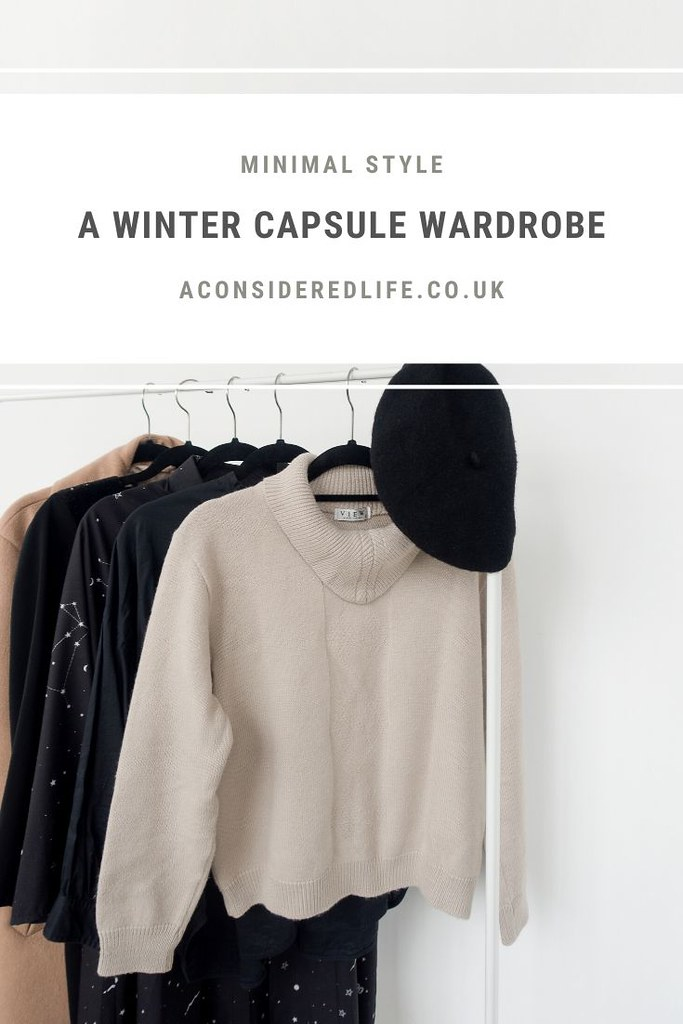 A Winter Capsule Wardrobe