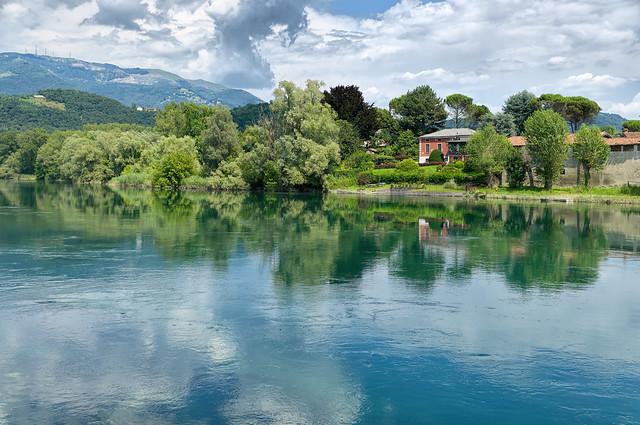 Brivio - Fiume Adda, Lombardia