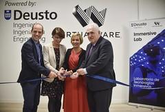 28/11/2019 - Deusto y Virtualware inauguran un laboratorio de realidad virtual pionero en el mundo