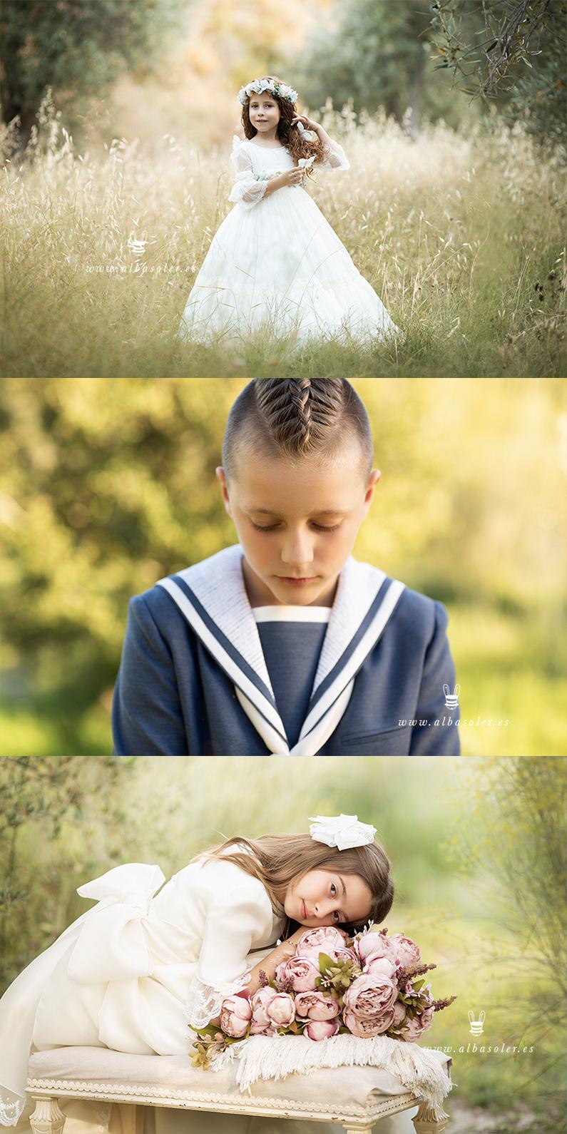 Las mejores fotos de comunión en exterior