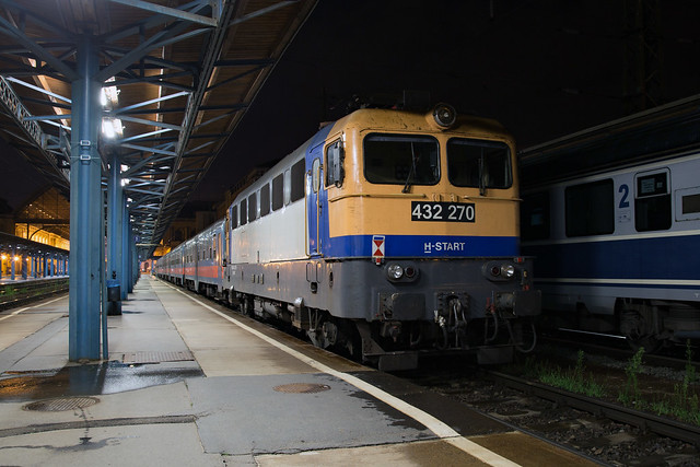 MÁV 432 270 Budapest Keleti