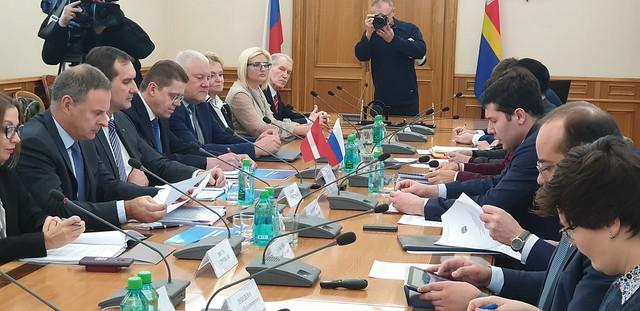 Vēstnieks M.Riekstiņš apmeklē Kaļiņingradu