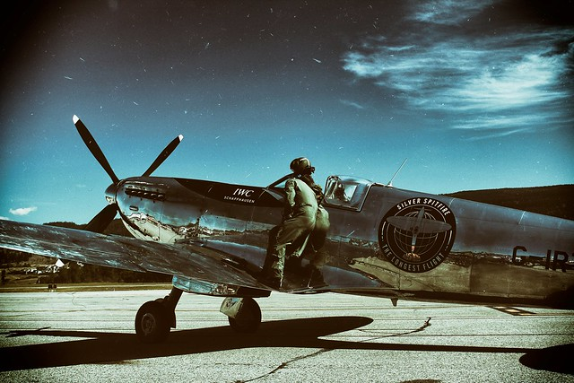 Silver Spitfire