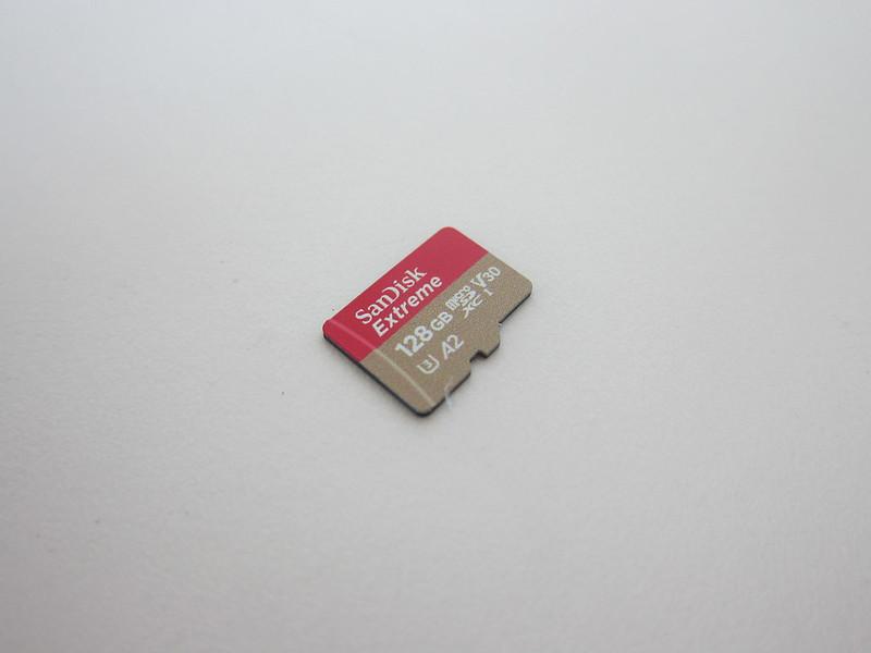 SanDisk Extreme 128GB MicroSDXC Card