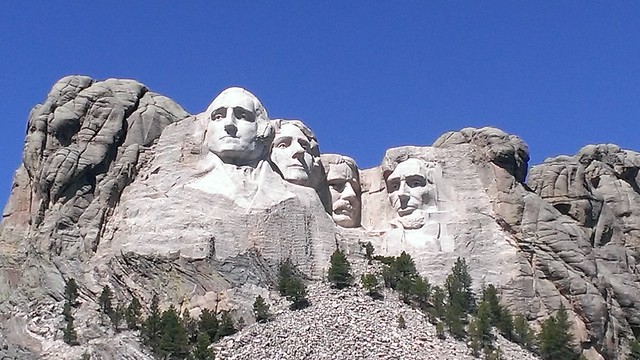 Mount Rushmore, Mount Rushmore National Memorial 8/27/2013