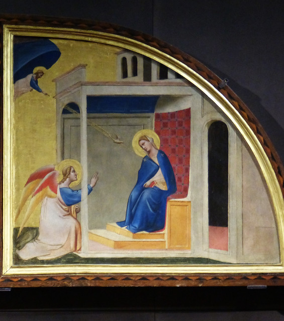 Wed, 09/09/2015 - 10:20 - Annunciation by Taddeo Gaddi. Accademia Florence 09/09/2015