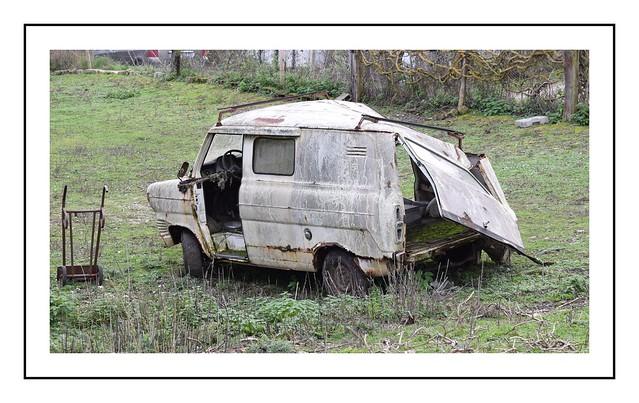 vieux ford transit