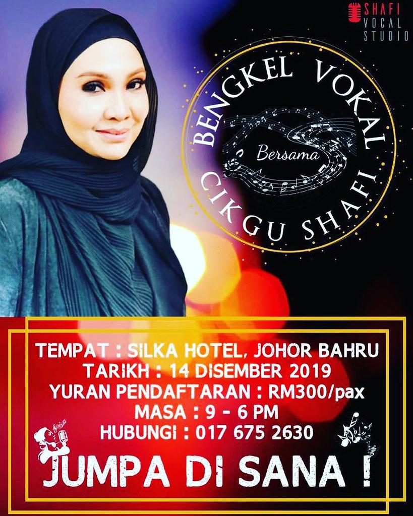 Bengkel Vokal Bersama Cikgu Shafi Di Johor Bahru