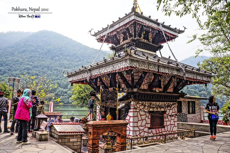 2014 Nepal Pokhara Tal Barahi Temple