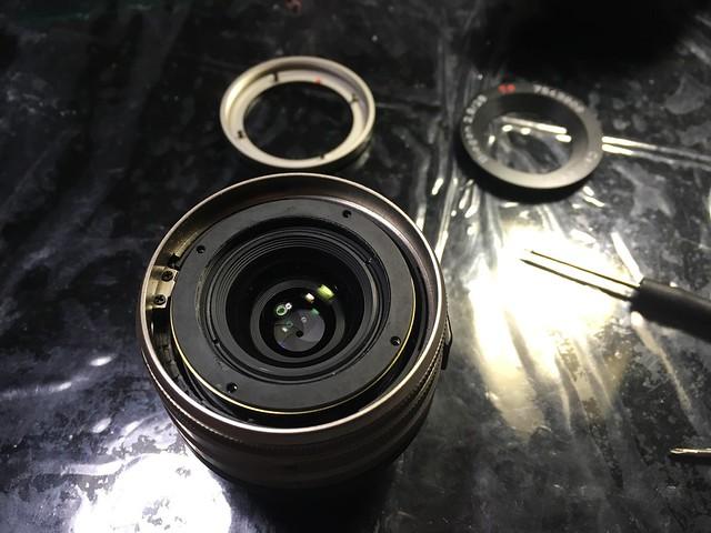 CONTAX Biogon2.8/28 restore