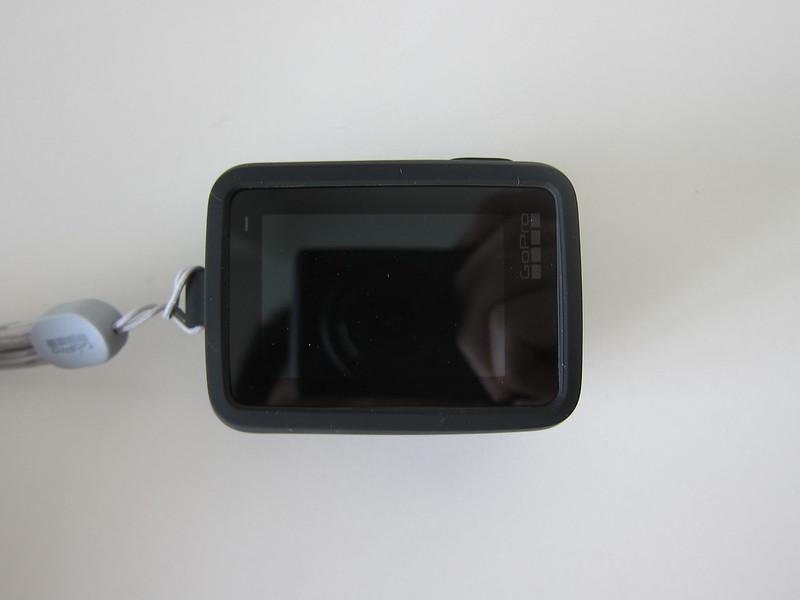 GoPro Sleeve - With GoPro Hero7 Black - Back