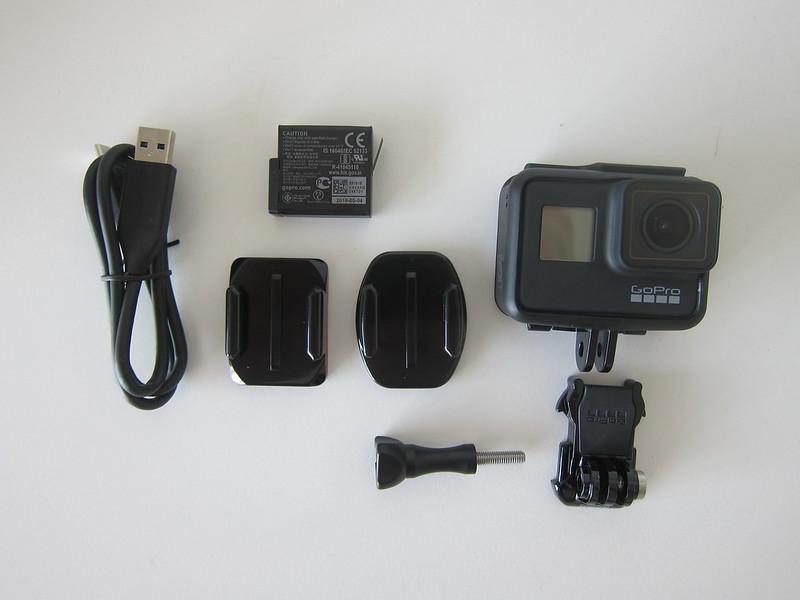 GoPro HERO7 Black - Box Contents