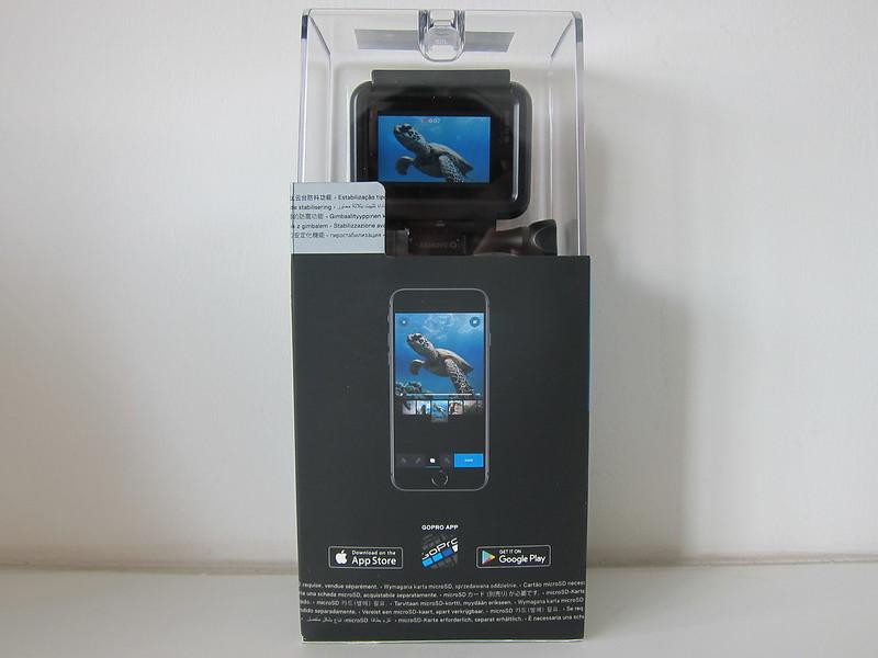 GoPro HERO7 Black - Box Back