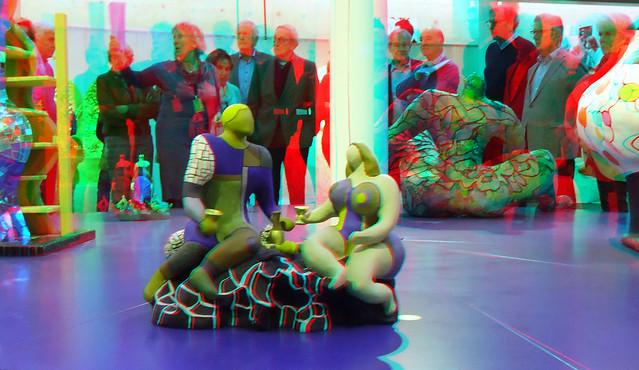 Niki de Saint Phalle in Beelden aan Zee 3D