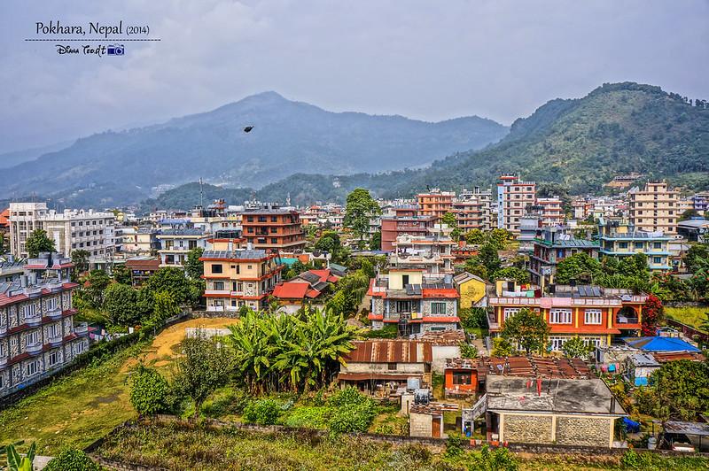 2014 Nepal Pokhara Cityview
