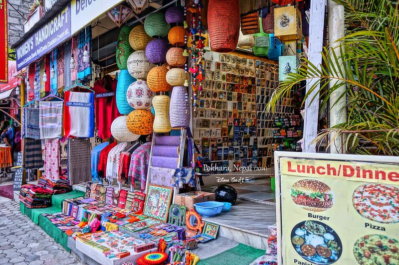 2014 Nepal Pokhara Souvenir Shop
