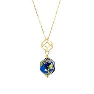 Origami Diamond Necklace by Mayumi Origami