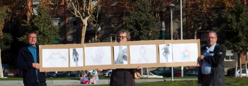 Manifestació per l'eliminació de la violència masclista