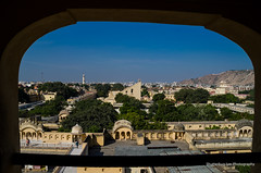 View from Hawa Mahal, Jaipur