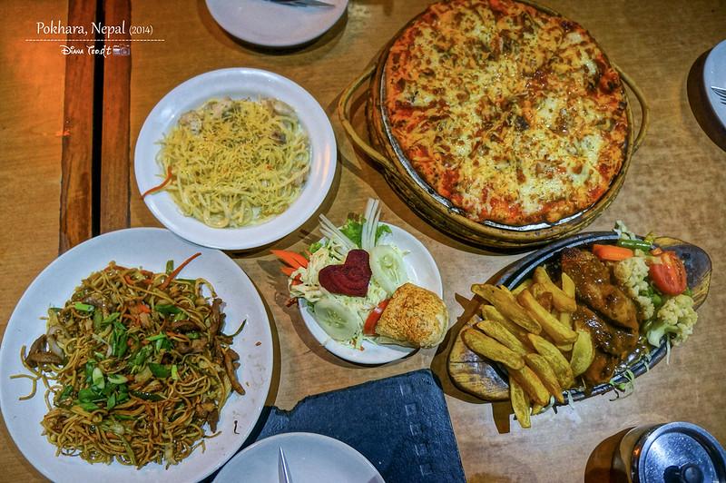 2014 Nepal Pokhara Dinner