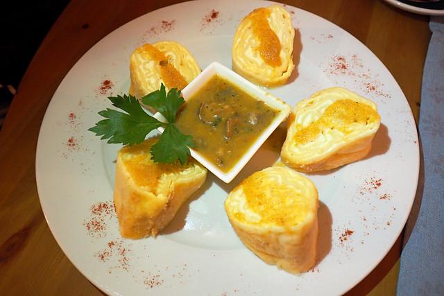 Cheese dumplings - struklji, Logarska Dolina