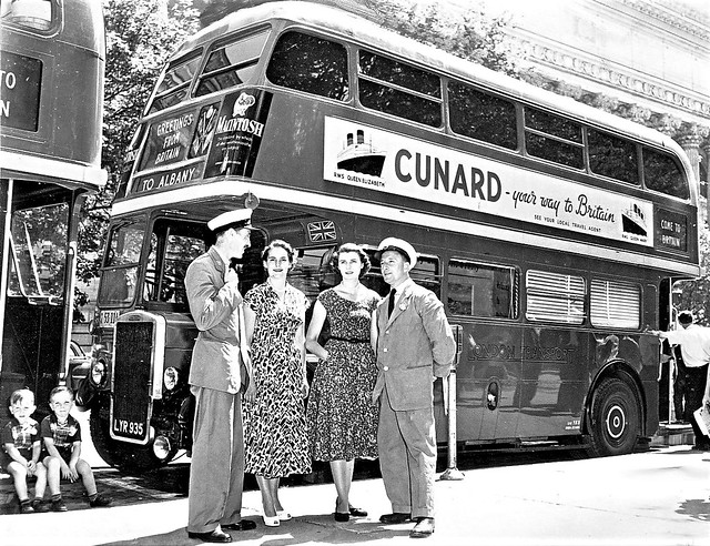 London transport RTL1307 Albany New York 1952.
