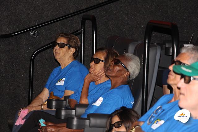 Encontro entre Gerações no Cinema | Unidade Pindamonhagaba