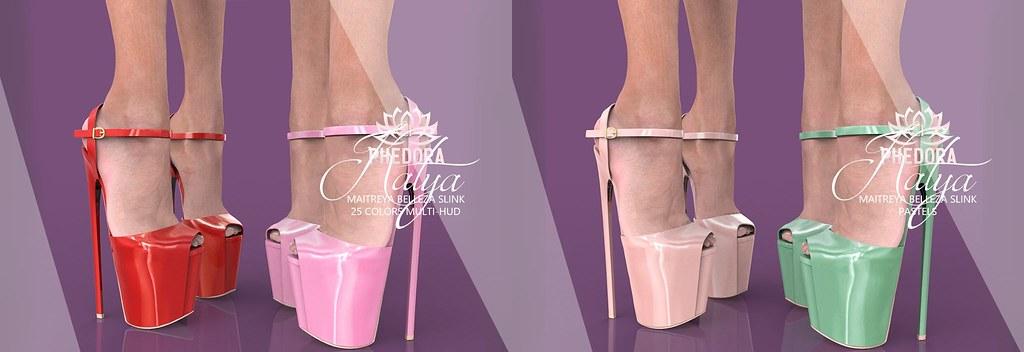 Phedora for Kinky Event – Katya Heels ♥