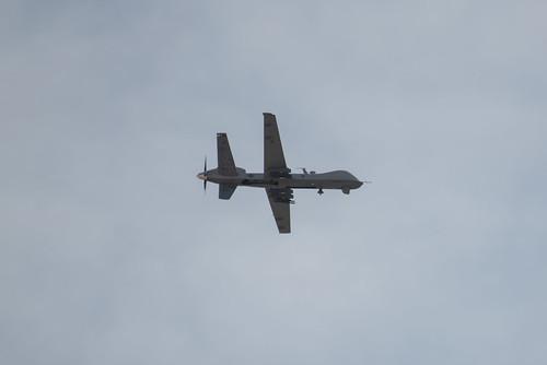 MQ-9  Reaper Flyby