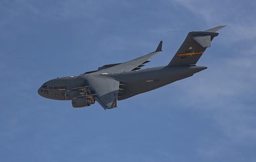 Lockheed C-17 Banking