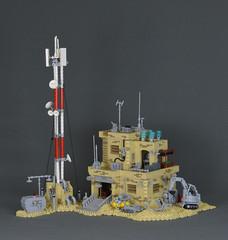 Sci-Fi Desert Outpost