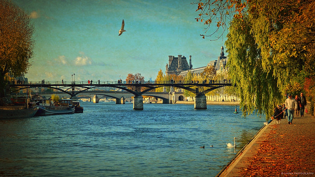 Paris in the Fall... ༽ ˳♪⁎˚♫
