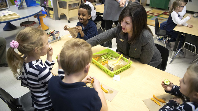 School nutrition program funding boost