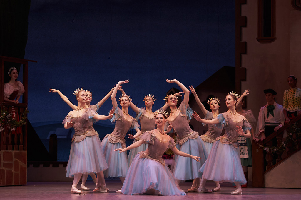 Artists of The Royal Ballet in Coppélia, The Royal Ballet ©2019 ROH. Photograph by Bill Cooper