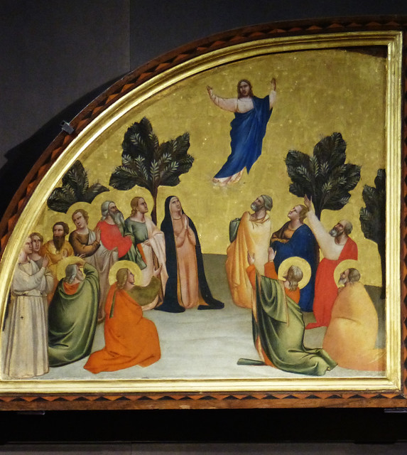 Wed, 09/09/2015 - 10:20 - Ascension by Taddeo Gaddi. Accademia Florence 09/09/2015