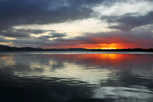 ericrobbniven scotland dundee sunset perthshire landscape rivertay