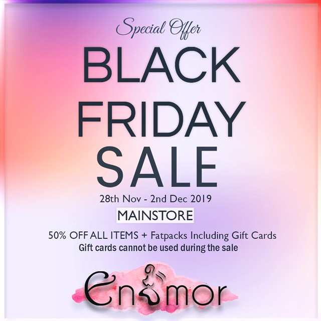 *Enamor   BLACK FRIDAY SALE!
