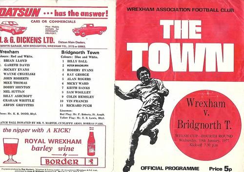 Wrexham Programme 2
