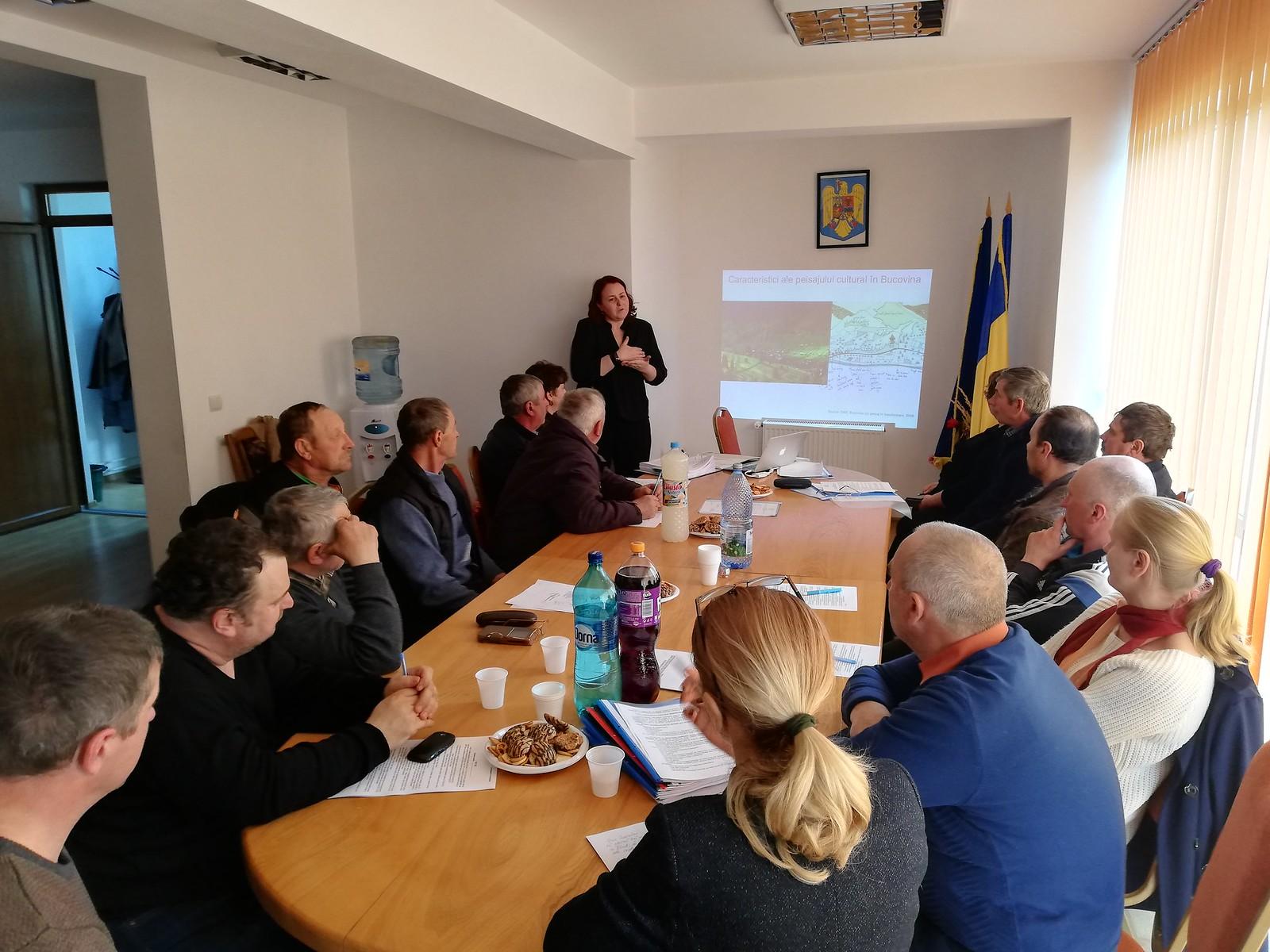 Participare la ședința de Consiliu Local Cacica