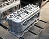 01. Cast iron engine block for a 1912 Velie from 3D printed sand mold.