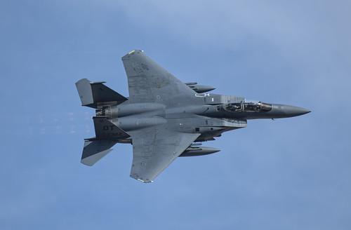 Topside of the F-15E Strike Eagle