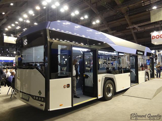 BUSWORLD 2019 / SOLARIS - Urbino 12 Hydrogen