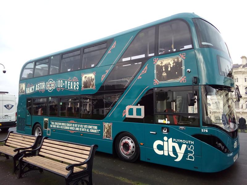 Plymouth Citybus 576 WA69CYZ