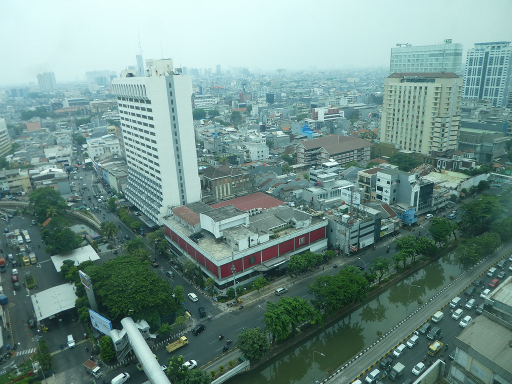 Novotel Gajah Mada Jakarta view from room