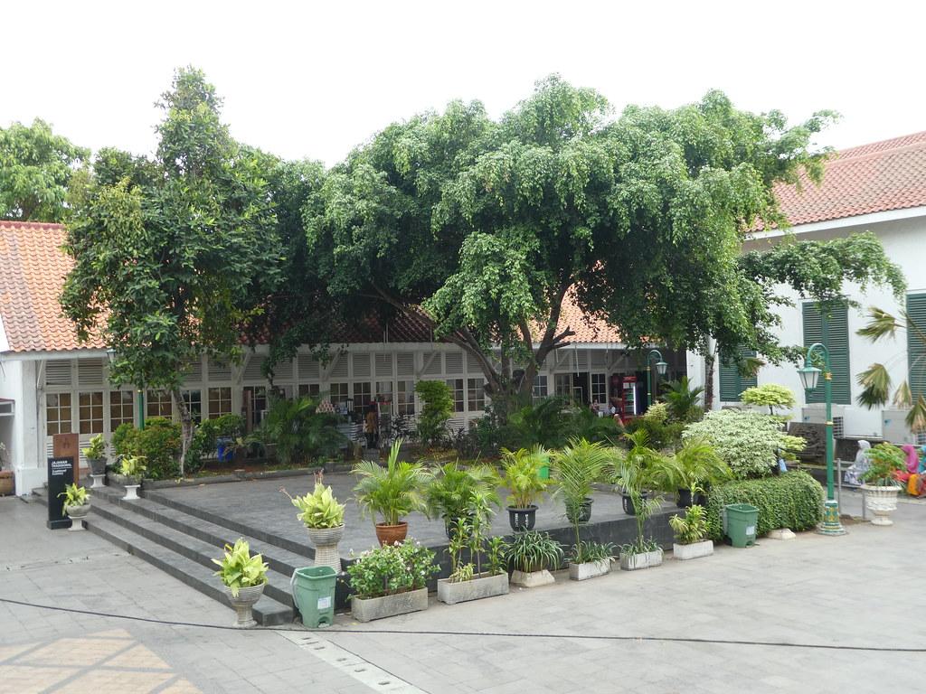 Inner courtyard of the Jakarta History Museum