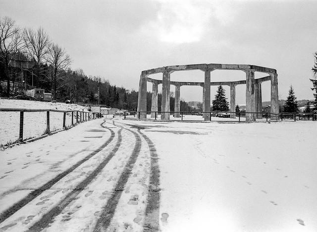 Mysterious Nazi structure. Ludwikowice Kłodzkie, Poland.