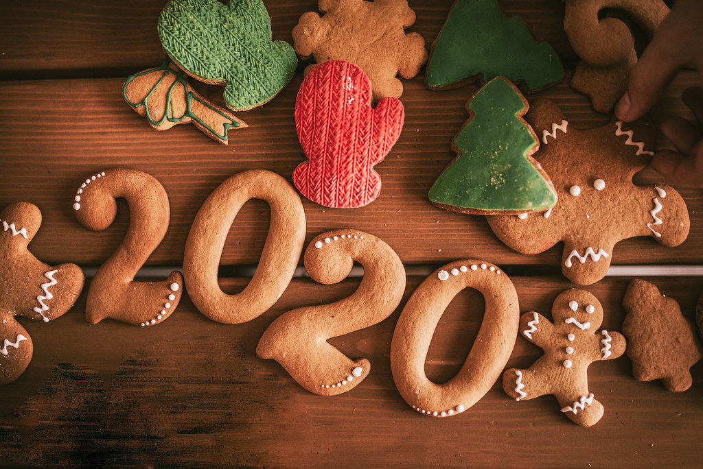 2020 cookie Christmas decorations.